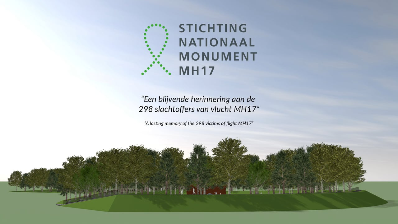 Nationaal Monument MH17 geopend